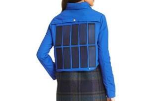 [穿搭設計]太陽能智慧加熱冬季保暖外套