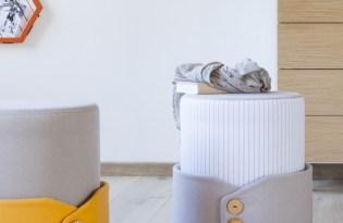 [家具設計]穿衣領的沙發椅「POLSINO」