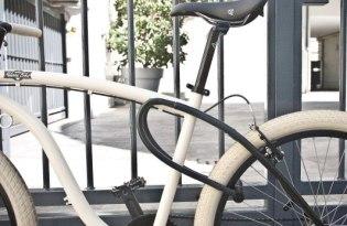[交通工具]車架+車鎖的自行車「Frameblock」