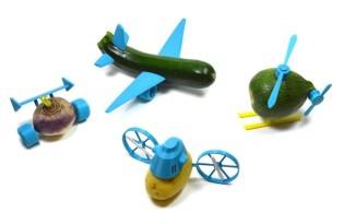 [產品設計]3D RP蔬果趣味玩具「Open Toy」
