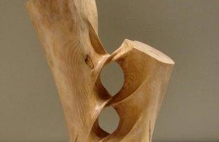 [極致工藝]極度扭曲木雕藝術