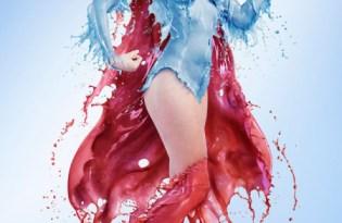 [海報設計]美女英雄性感液態攝影集