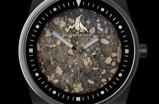 [手錶設計]石頭錶面「Plug & Feather」
