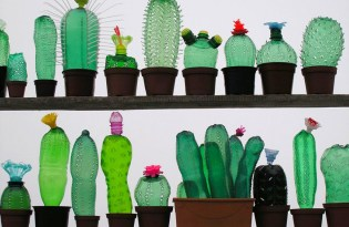 [工藝設計]回收寶特瓶療癒盆栽