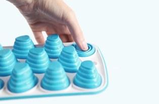 [產品設計]方便拿取的「矽膠製冰盒」