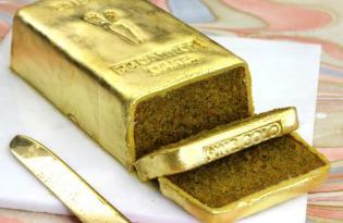 [創意食品]貴族御用24K純金蛋糕