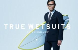 [泳裝設計]西裝造型衝浪服