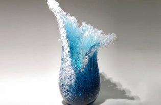 [盆栽設計]海洋玻璃花盆