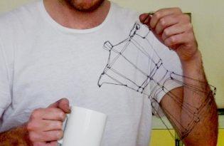 [工藝設計]金屬鐵絲雕塑創作