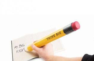 [文具設計]XXXL大尺寸「巨型鉛筆THINK BIG」