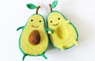 [文創設計]超可愛的酪梨菜瓜布