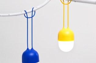 [產品設計]隨身小夜燈 「clover」