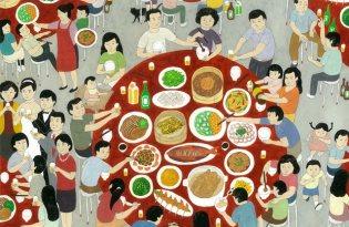 [平面設計]台灣味《鄉間小路》插畫藝術