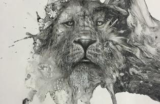 [平面設計]Glen Ronald素描插畫視覺傳達