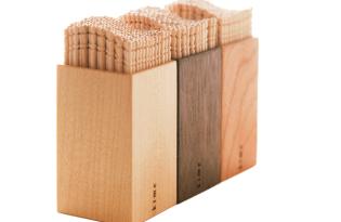[產品設計]日本設計出品「Kime木作牙籤筒」