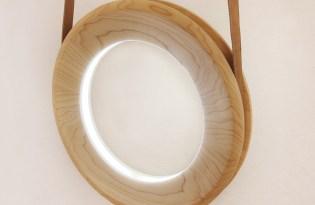 [產品設計]冰島出品「木作燈具Halo Lamp」