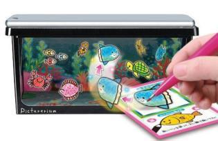 [產品設計]日本玩具「虛擬實境水族箱Picturerium」