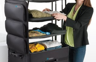 [產品設計]美國出品「ShelfPack行李箱」