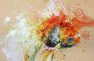 [平面設計]新加坡出品「潑灑視覺水彩畫」