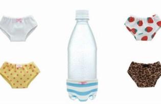 [產品設計]日本出品「水瓶內褲杯套」