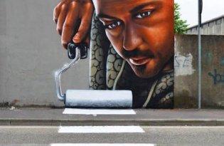 [平面設計]街頭藝術塗鴉插畫
