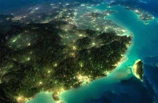 [攝影藝術]空拍地球超美夜景