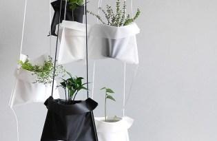 [產品設計]Pot Cradle帆布植物盆栽