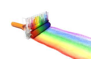 [產品設計]彩虹油漆滾筒刷