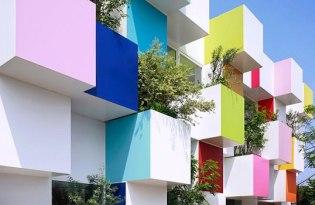 [建築設計]日本出品「東京彩色銀行」