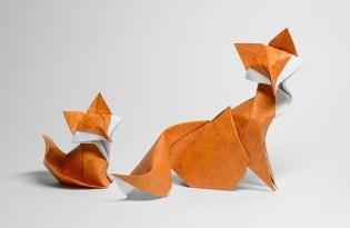 [設計工藝]越南出品「動物摺紙藝術」