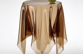 [家具設計]illusion透明玻璃桌