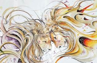 [平面插畫]印度出品「動物水彩畫藝術」