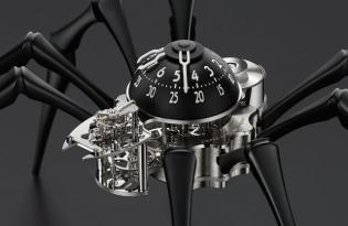 [產品設計]蜘蛛造型機械時鐘