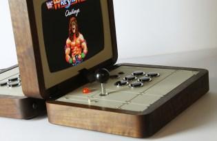 [產品設計]復古雙人遊戲機台 Battlecade