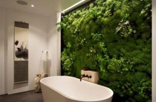 [裝置藝術]室内設計趨勢「苔蘚牆」