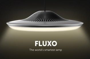 [燈具設計]Fluxo LED智慧彩色檯燈