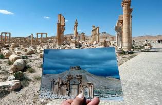 [視覺傳達]敘利亞戰爭前後對照攝影