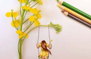 [視覺傳達]花朵插畫藝術