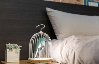 [燈飾設計] JinGoo鳥籠床頭燈