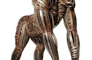 [設計工藝]古銅金屬裝置藝術
