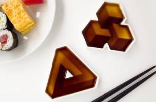 [餐具設計]Soy Shape幾何醬油碟