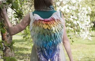 [產品設計]白俄羅斯出品「天使羽翼背包」