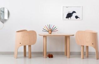 [家具設計]法國出品「Elephant大象兒童椅」