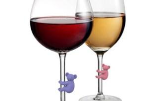 [創意設計]動物酒杯裝飾品