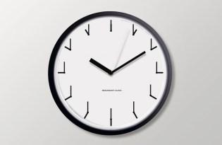 [文創設計]紐約出品「Redundant Clock多餘時鐘」