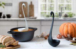 [廚具設計]OTOTO設計「優雅天鵝湯勺」