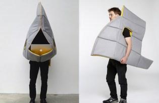 [創意設計]Sharkman 鯊魚人行動家具