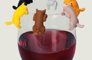 [文創設計] TrueZoo創意酒杯貓緣子
