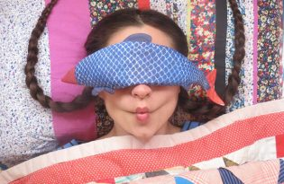 [文創設計] AliaGraceDolls 魚娃娃眼罩