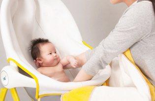[衛浴設計]直立式嬰兒澡盆